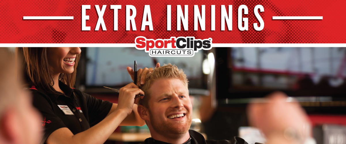 The Sport Clips Haircuts of Schaumburg Extra Innings Offerings